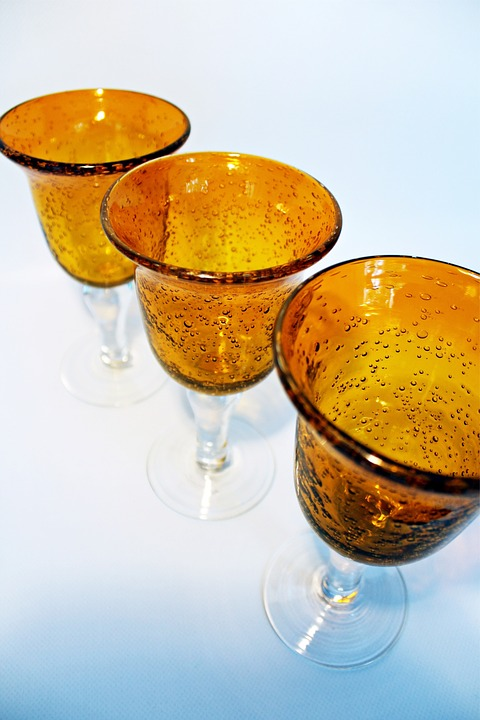 Blasglaeserei, Glass Trophies, Glasses, Glass, Blown