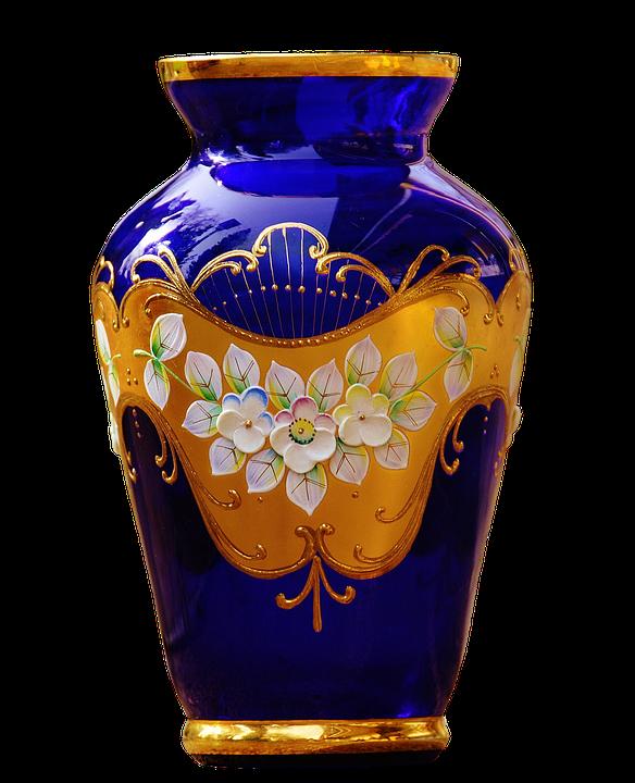 crackle vase lyngby