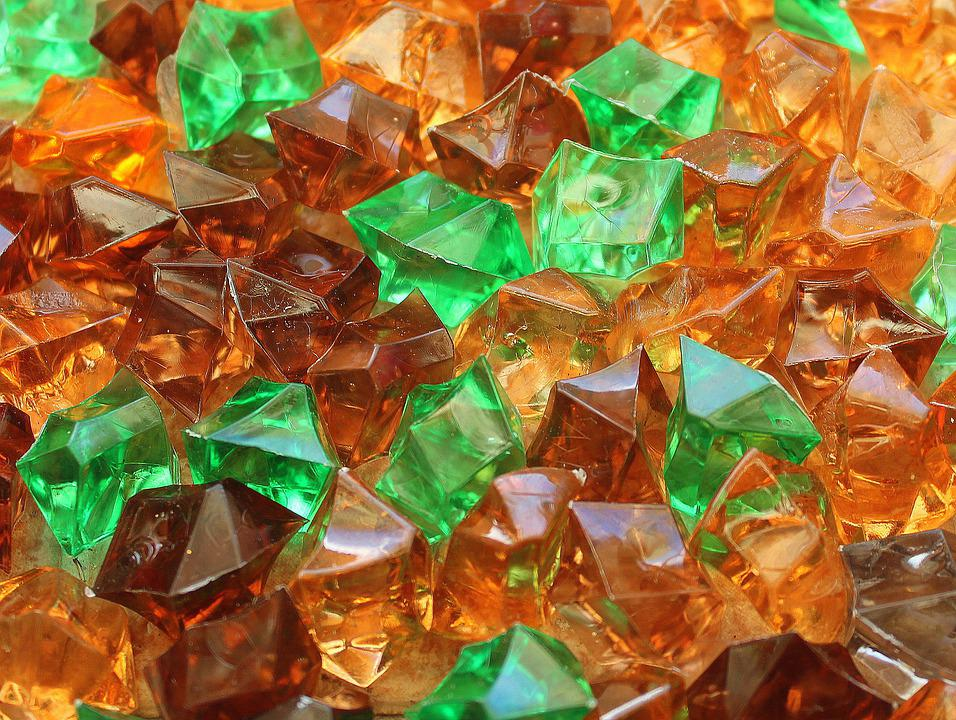 Glass, Shards Of Glass, Solid, Colorful, Body Crystal
