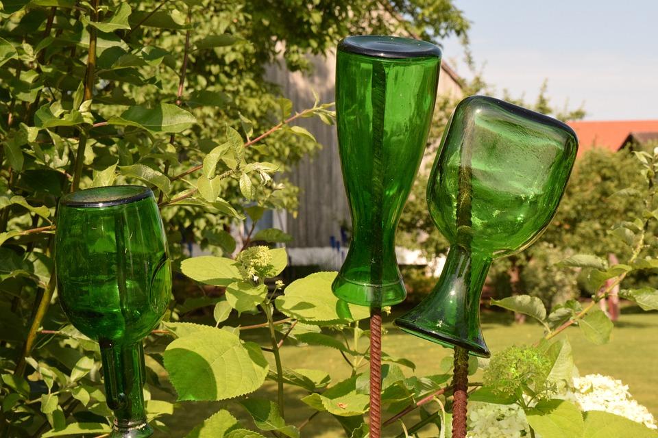 Decoration, Bottles, Still Life, Glass, Deco, Green