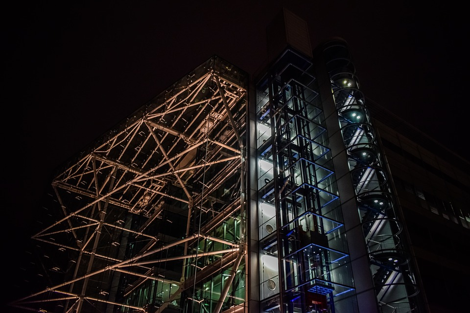 Building, Architecture, Modern, Glass, Metal, Facade
