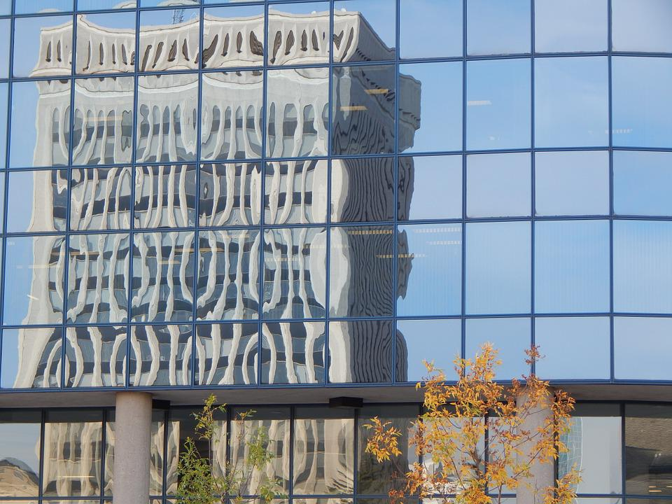 Building, Glass, Windows, Reflection, Architecture
