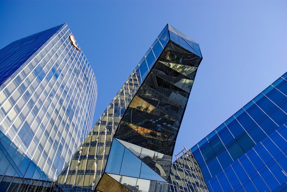 Spain, Catalunya, Barcelona, Building, Glass