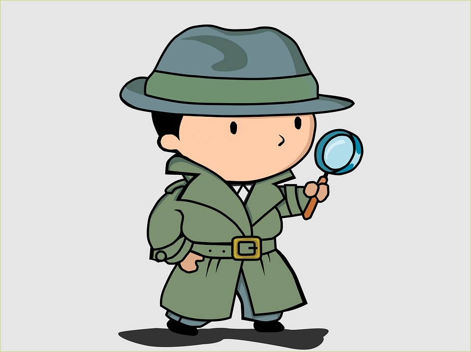 Litle Detective, Detective, Investigation, Glass