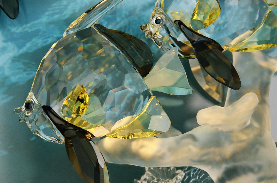 Glass, Fish, Abstract, Decoration, Art