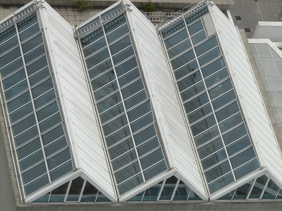 Roof, Glass Roof, Glass, Aufblick