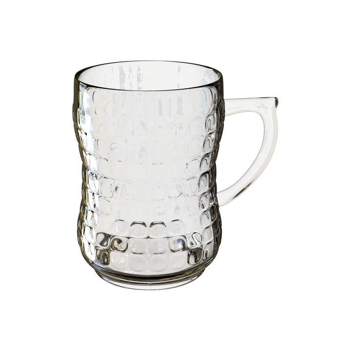 Beer Mug, Transparent Background, Glass Glass