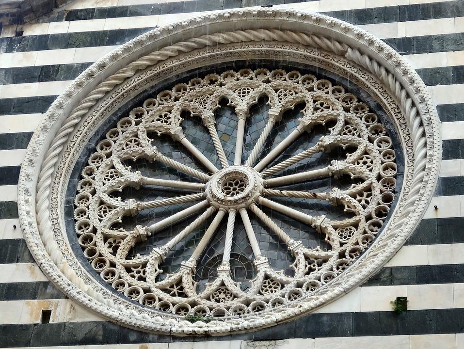 Church, Window, District, Stone, Glass, Italy