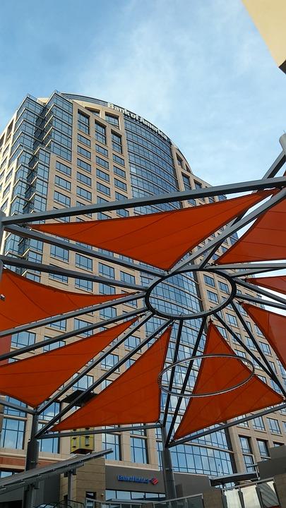Architecture, Glass Items, Modern, City, Sky