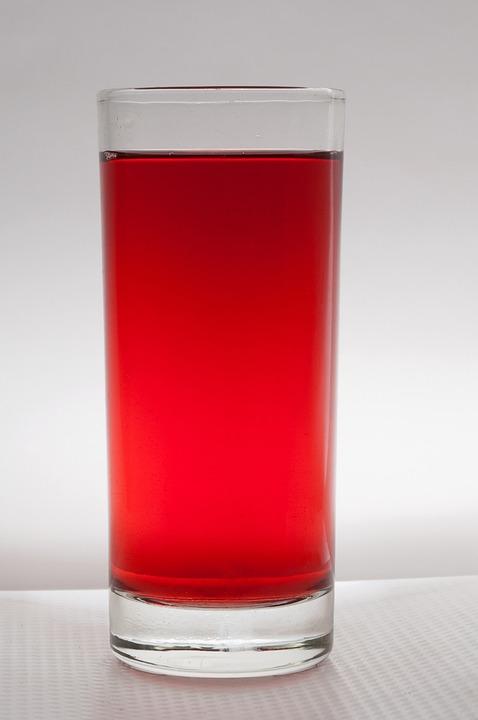 Beverage, Glass, Red, Drink, Liquid, Drinking, Juice