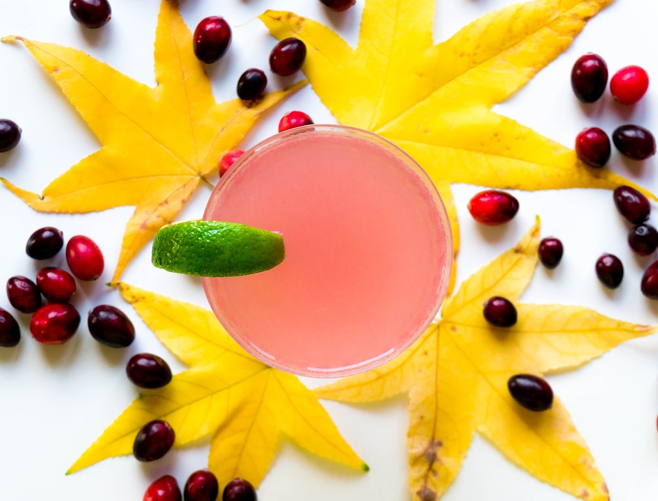 Leaf, Sweet, Food, Fruit, Refreshment, Cocktail, Glass
