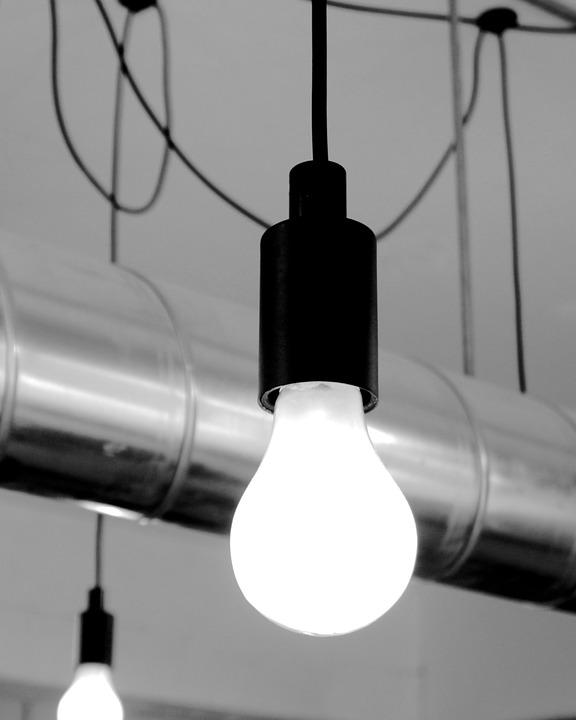 Light, Lightbulb, Bulb, Electric, Glass, Imagination