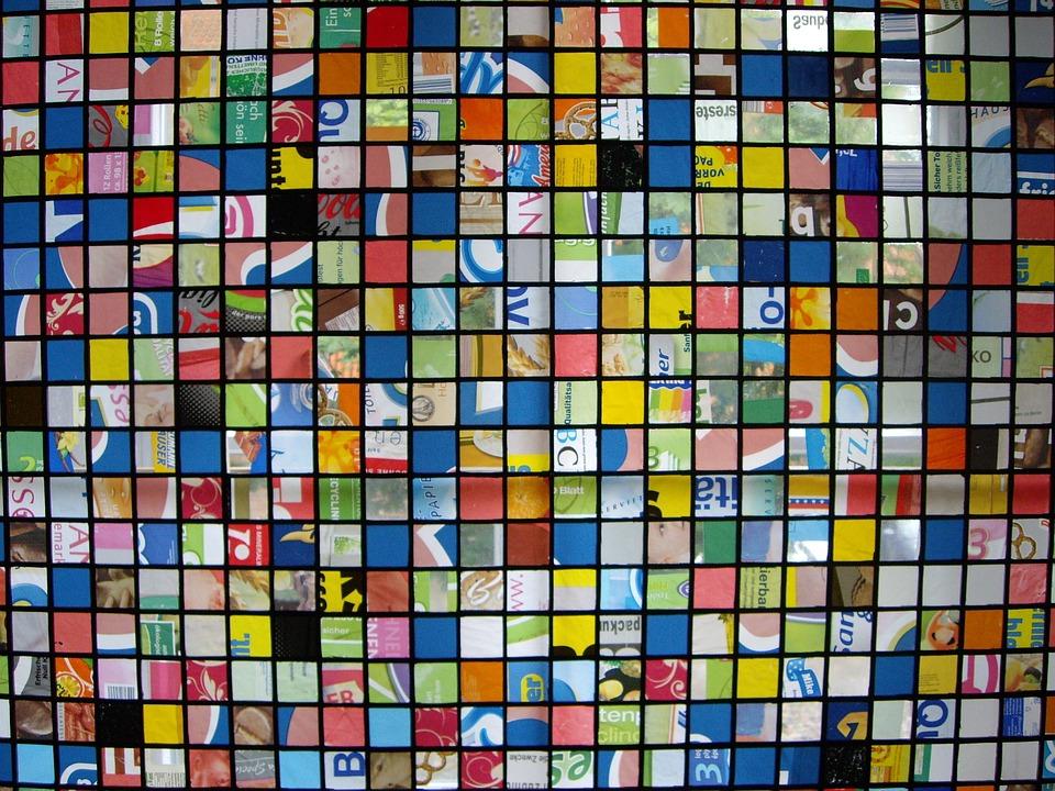Stained Glass Window, Mosaic, Glass Mosaic, Window, Art