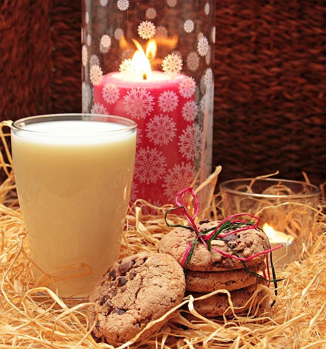 Milk, Glass Of Milk, Cookies