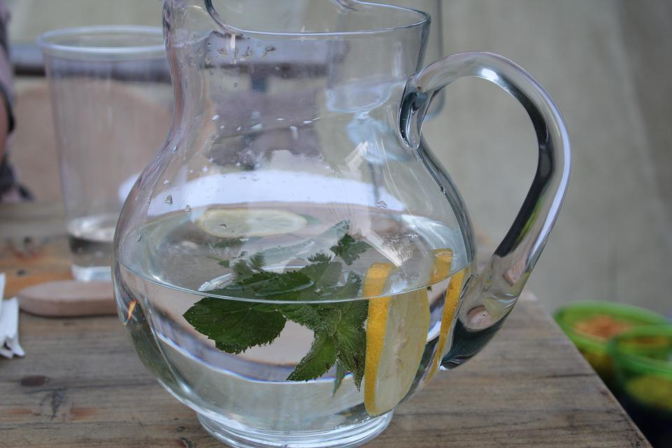 Pitcher, Water, Glass