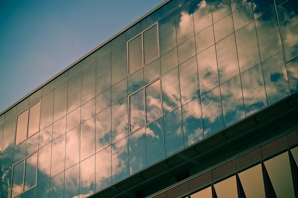 Glass, Window, Reflection, Architecture, Sky, Building