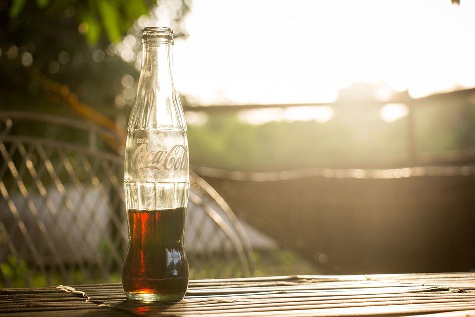 Bottle, Coca Cola, Drink, Glass, Liquid, Refreshment
