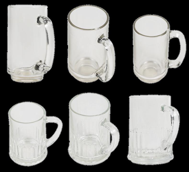 Mug, Glass Mug, Glass, Alcohol, Pub, Bar, Restaurant