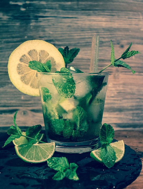 Mojito, Rum, Cocktail, Bar, Glass, Cold, Summer, Drink