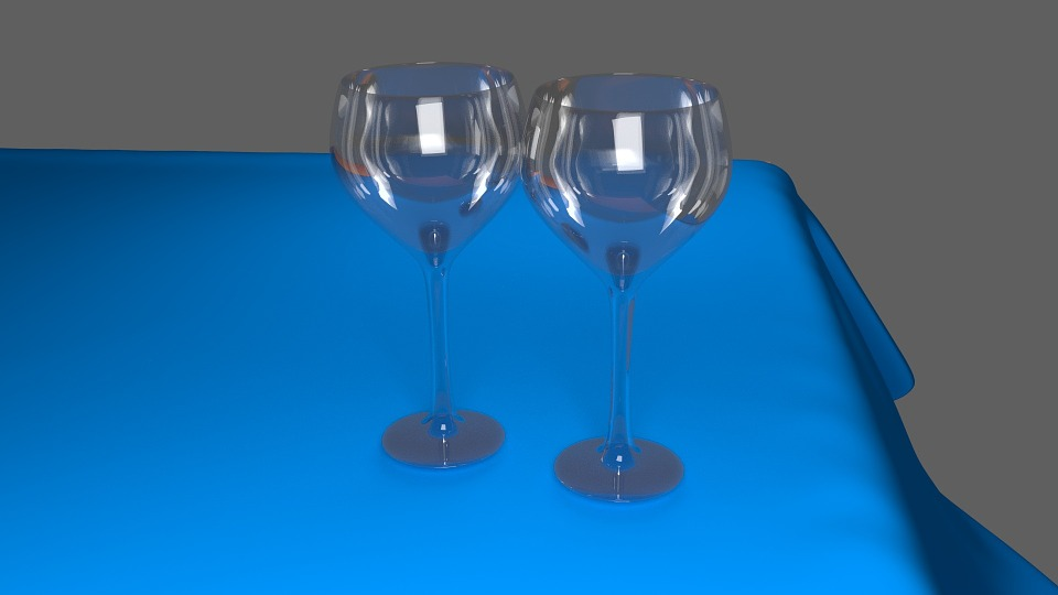 Wine Glass, Glass, Wine Glasses, Shiny