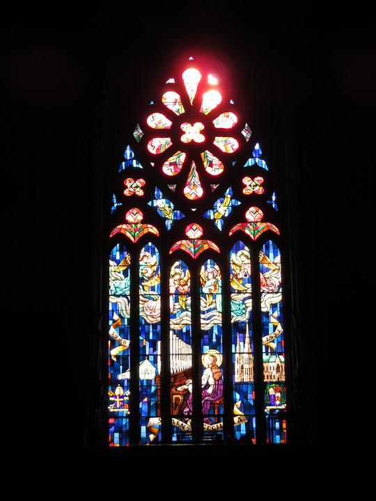 Church, Window, Stained, Glass, Stained Glass Window