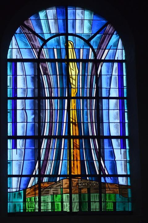 Stained Glass, Art, Church, Glass, Window