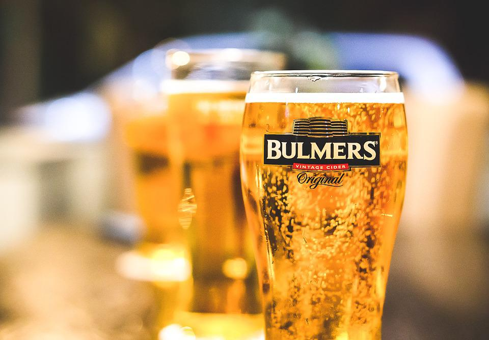 Cider, Pint, Glass, Stein, Bulmers, Thristy, Bubbly