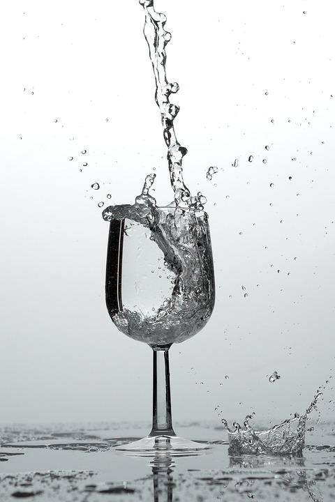 Glass, Water, Drink, Drip, Water Glass, Mood