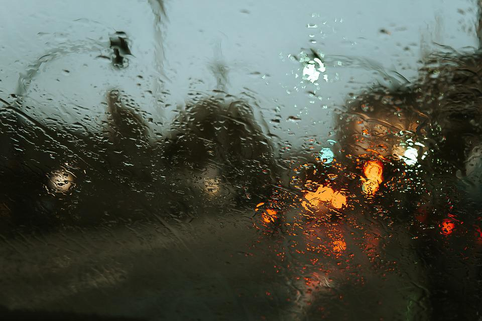 Waterdrops, Glass, Splashing, Splash, Rain, Water