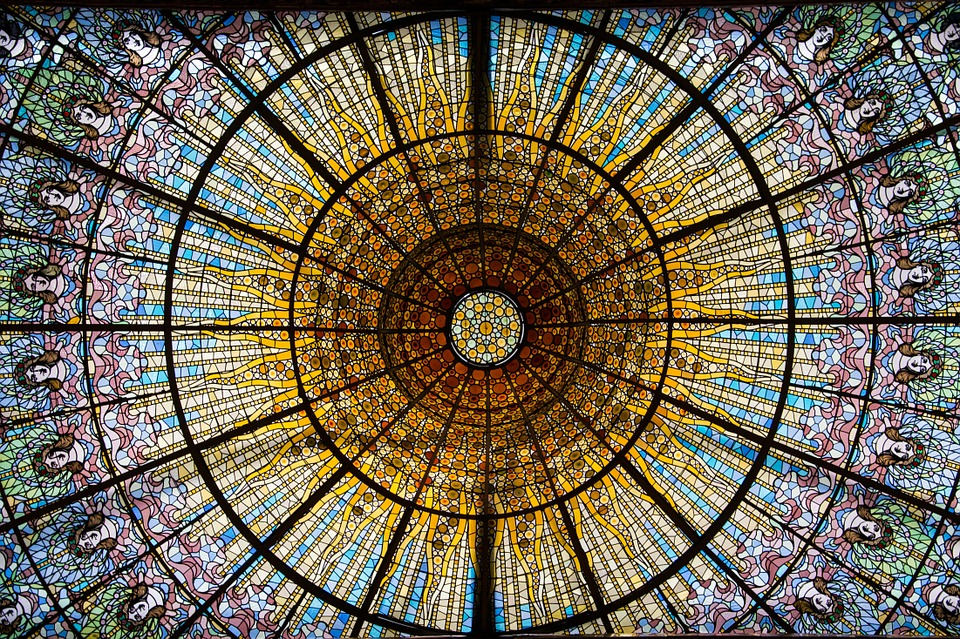 Barcelona, Glass Window, Stained Glass, About, District
