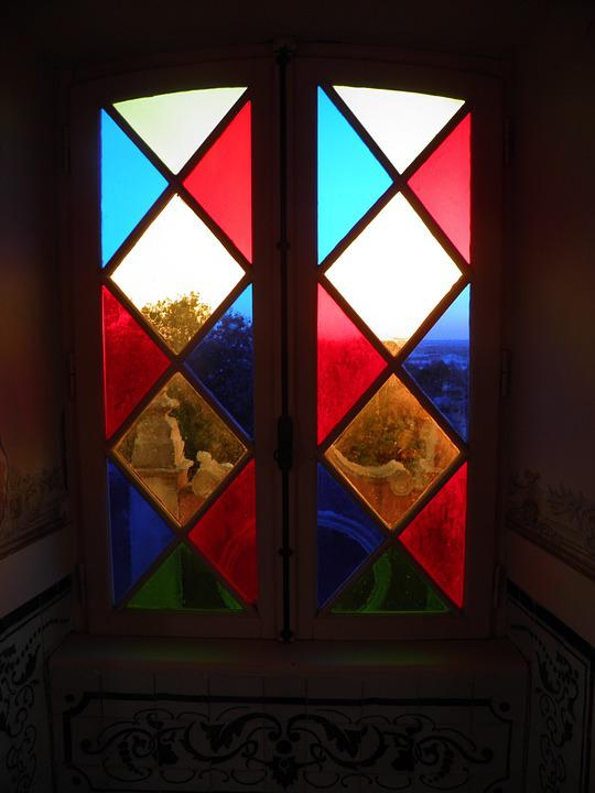 Window, Coloured, Glass, Stained Glass