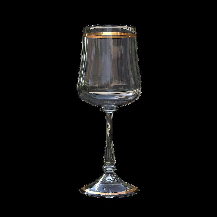Glass Wine Glass, Transparent, Empty Glass