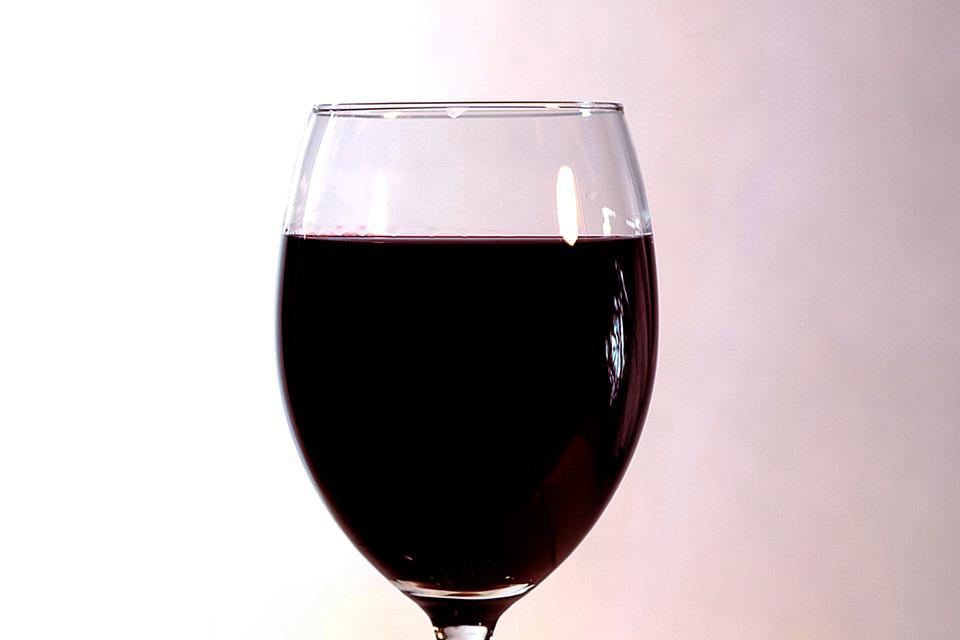 Wine, A Glass Of, Glass Of Wine, Glass, The Drink