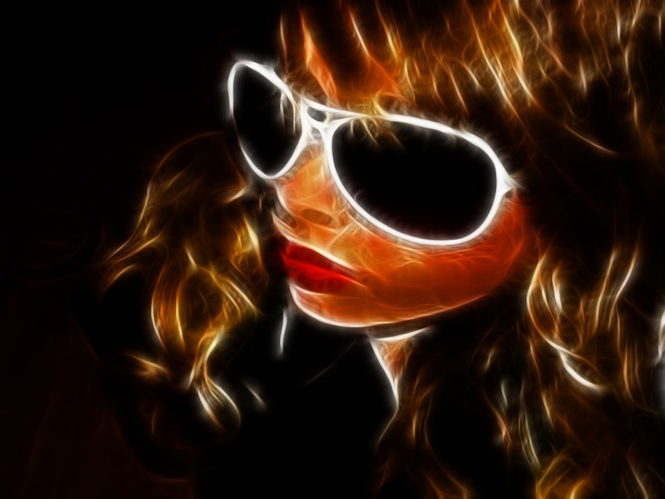 Girl, Alienated, Filter, Glasses, Young, Person, Face