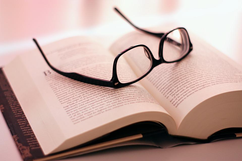 Book, Glasses, Read, Rest, Relax, Learning, Smart