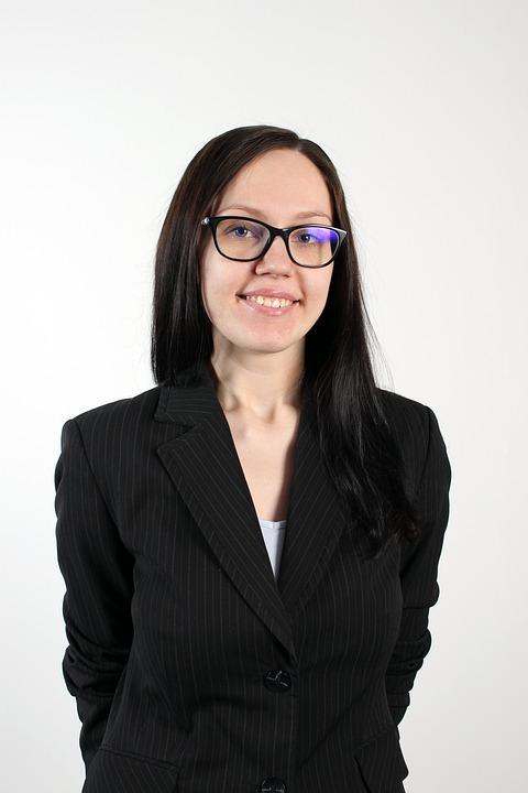 Woman, Glasses, Business Woman, Professional