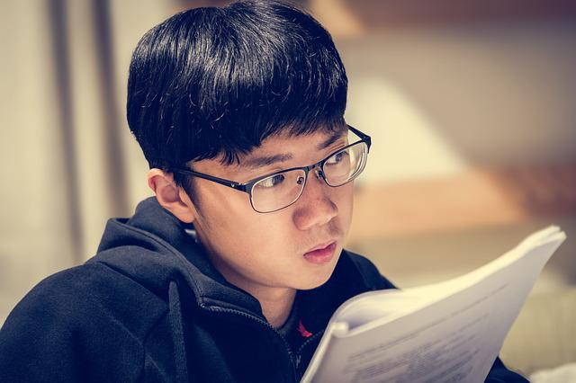 Study, Book, College, Glasses, Spectacles, Soft Light