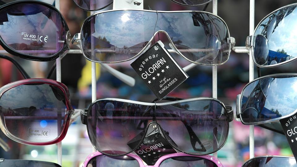 Sunglasses, Glasses, Sun, Reflection, Dark, Stylish