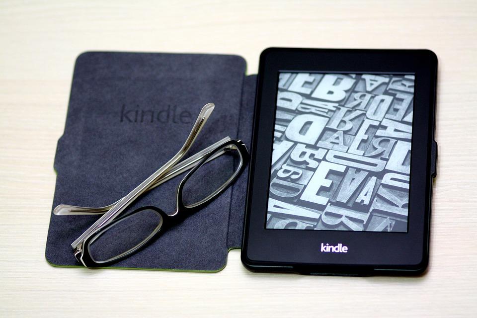 Kindle, Paper White, Book, Device, Glasses, E-book