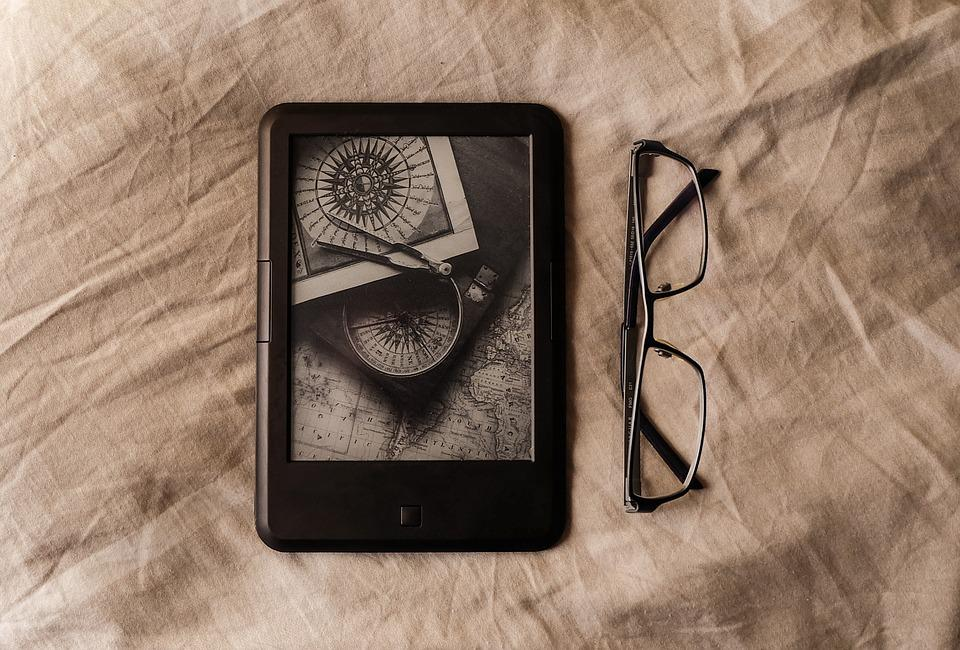 Book, Ebook, Reading, Glasses, E-book