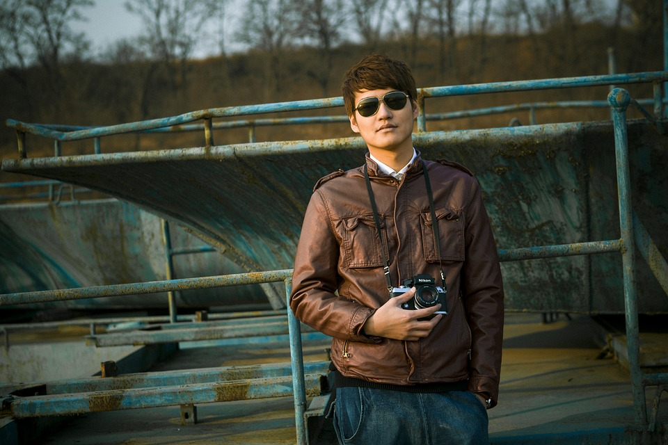 People, Man, Model, Glasses, Creative Shooting, Taobao