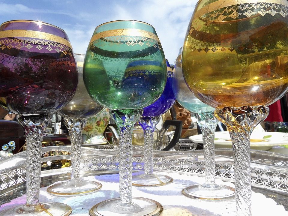 Glass, Murano, Glasses