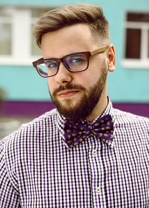 Hipster, Man, Beard, Look, Glasses, Nerd, Scientist