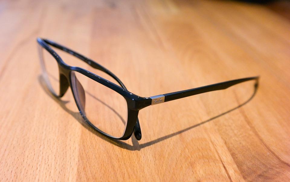 Glasses, Ray Ban, Black, Sehhilfe