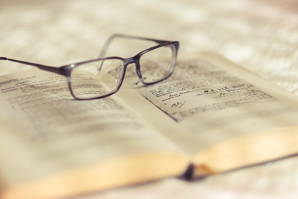 Reading, Glasses, Book, Read, Education, Books, School