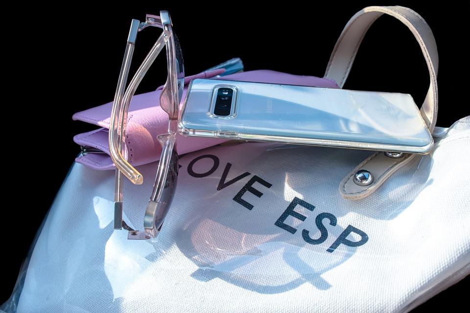 Bag, Glasses, Purse, Woman, Sunglasses, Girl, Fashion
