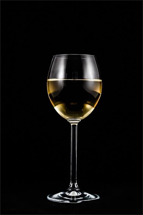 Wine, Glass, White Wine, Glass Of Wine, Glassware
