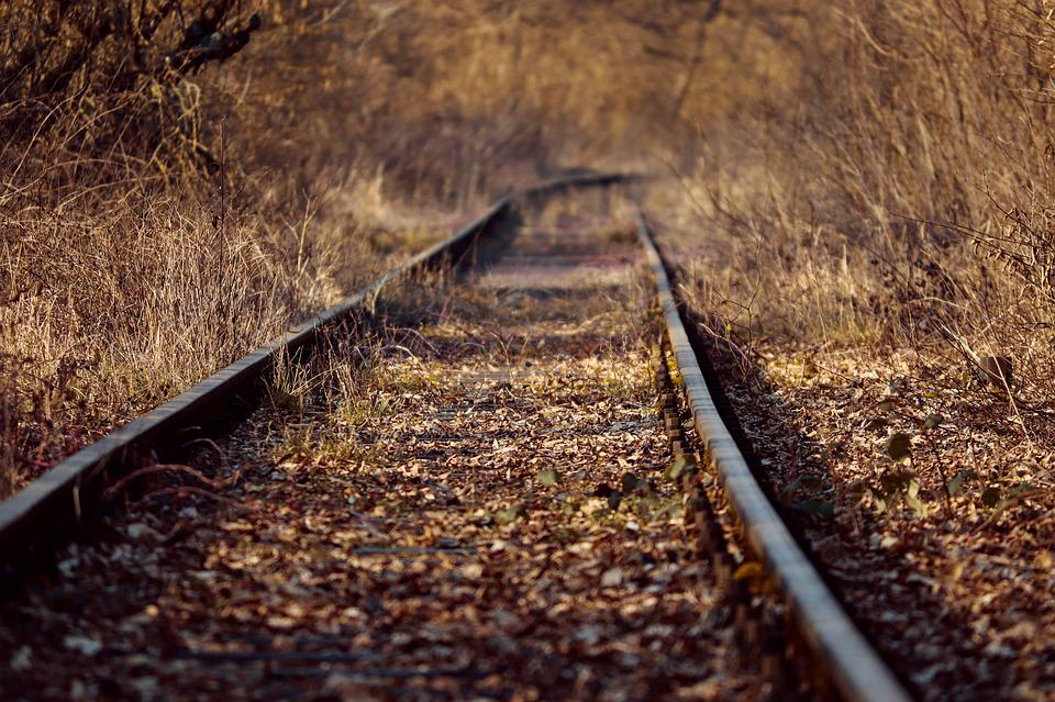 Rails, Railroad Tracks, Rail, Railway, Gleise