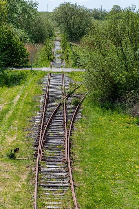 öpnv, Siding, Gleise, Railway, Rails, Track, Old