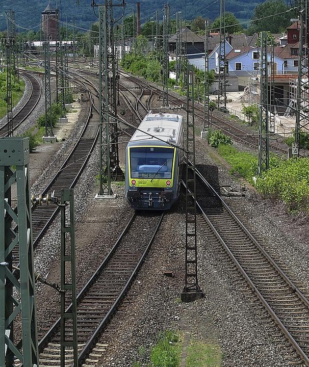 Gleise, Seemed, Railcar, Railway, Railway Station
